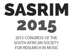 SASRIM 2015 Congress